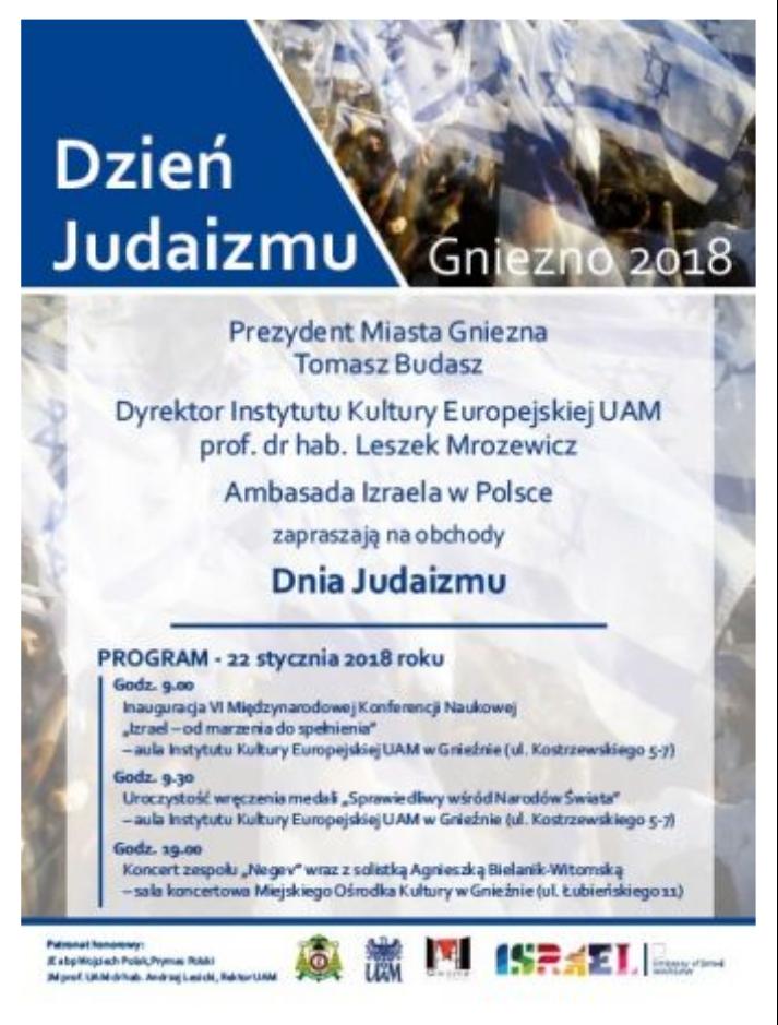 Igor Lendorf On Twitter Dzień Judaizmu W Gnieźnie