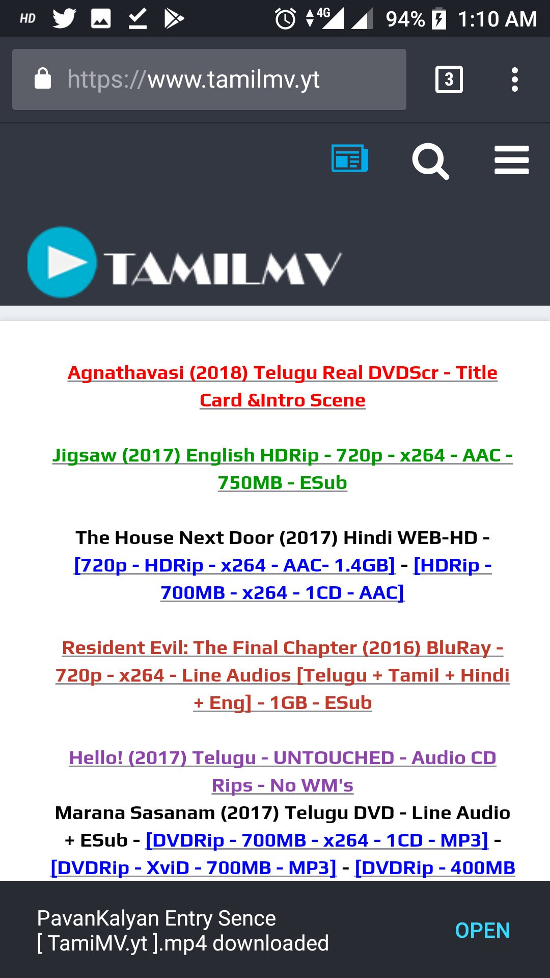 tamilmv.com telugu 2018 movie download
