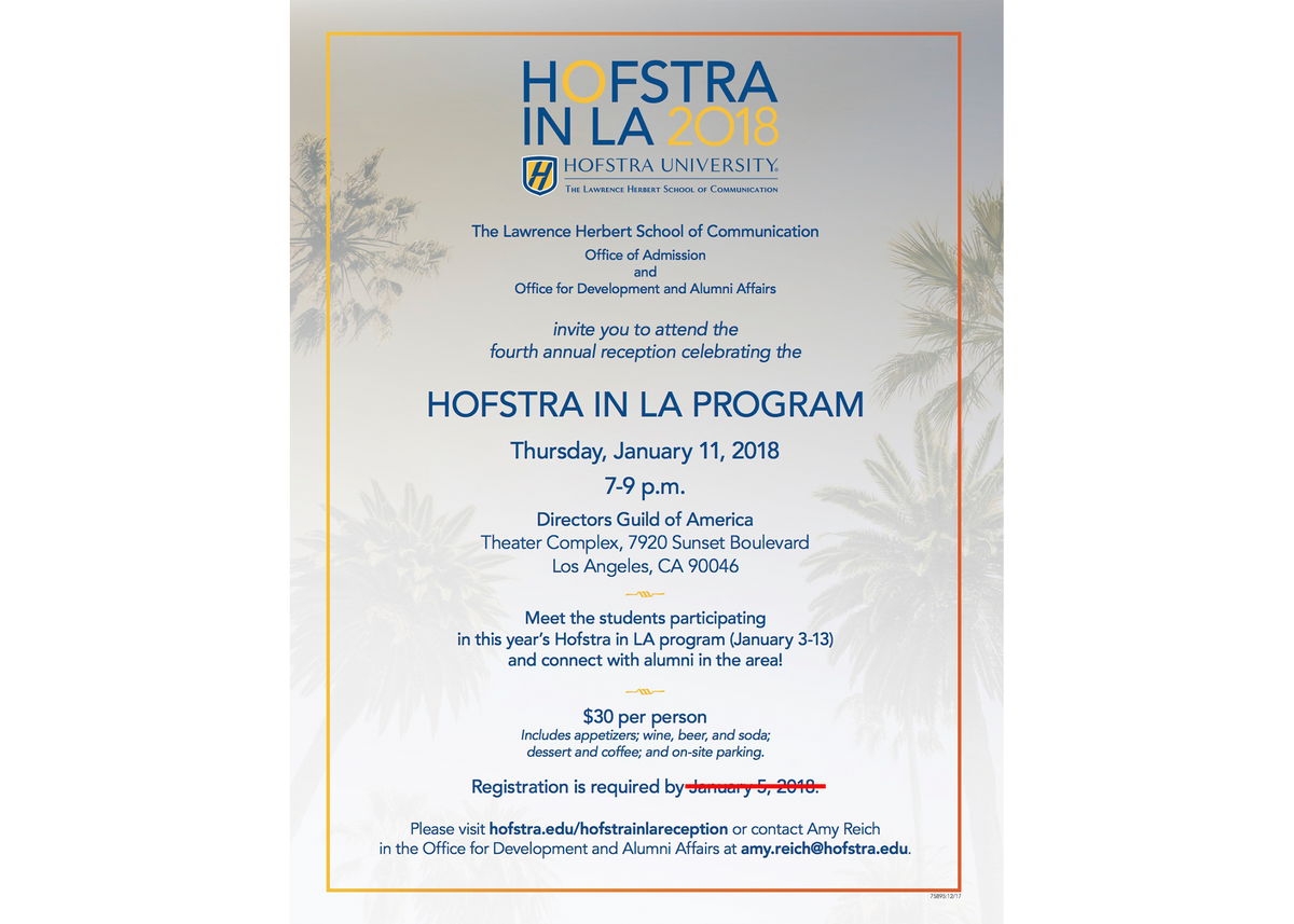 Hofstra university on twitter herbertschoolhu hofadmission herbertschoolhu hofadmission hofstraalumni invite you to attend the 4th annual reception celebrating hofstrala online registration extended to 111 stopboris Choice Image