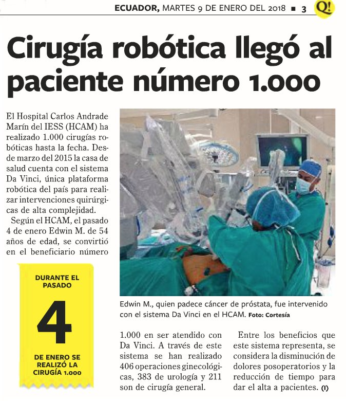 cirugía robótica de próstata pisa italia