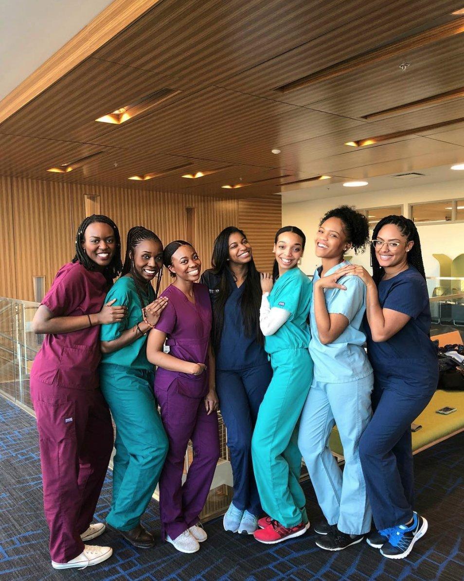 Morehouse School Medicine : future doctors studying