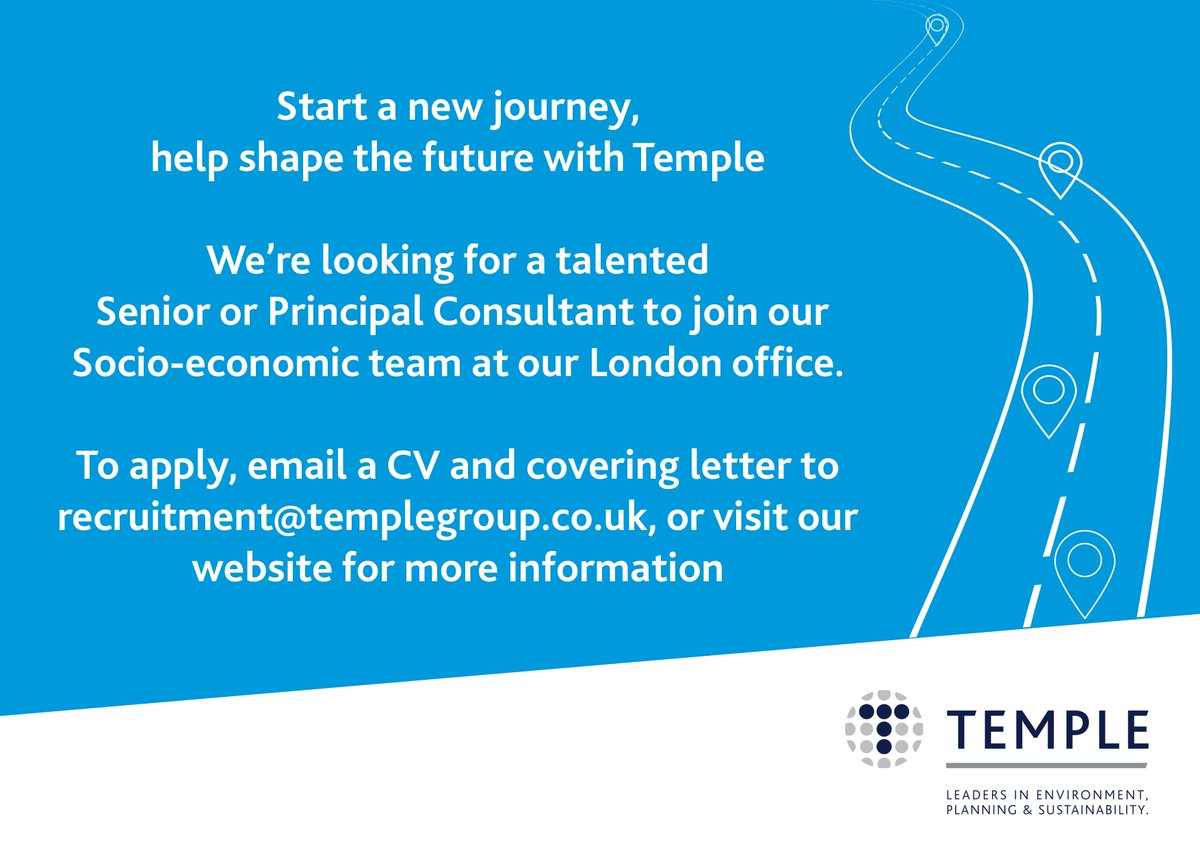 ... Or Principal Consultant To Join Our Team In #London ...