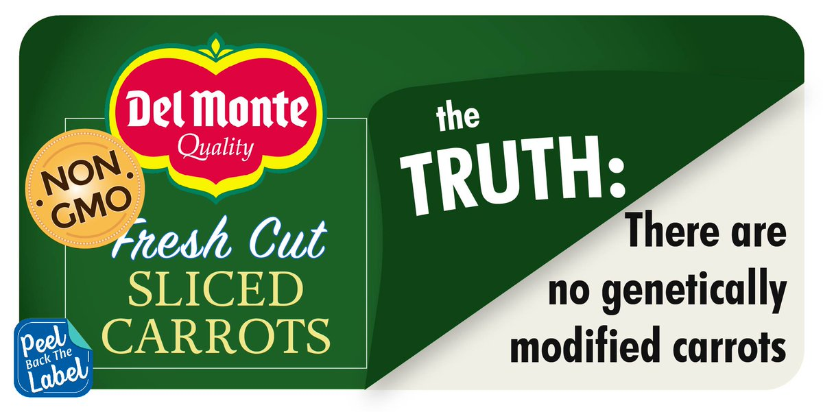 del monte case study Del monte's canned sliced carrots include large non gmo seals on their labels seems simple enough but the truth is that there is no such thing as a genetically modified carrot, so the label is at best totally superfluous and, at worst, completely deceptive.