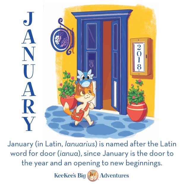 Keekee On Twitter January In Latin Ianuarius Is Named After The