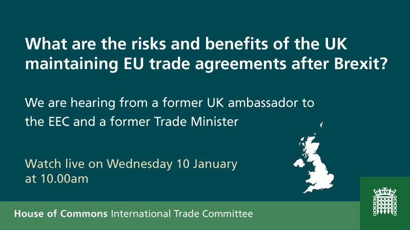 Int Trade Committee On Twitter Watch Our Evidence Session Https
