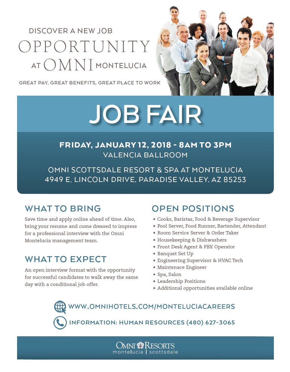 Job Fair! This Friday, January 12th from 8am-3pm. Apply online at https://t.co/i0B940c8bp https://t.co/j00Q84fBDU