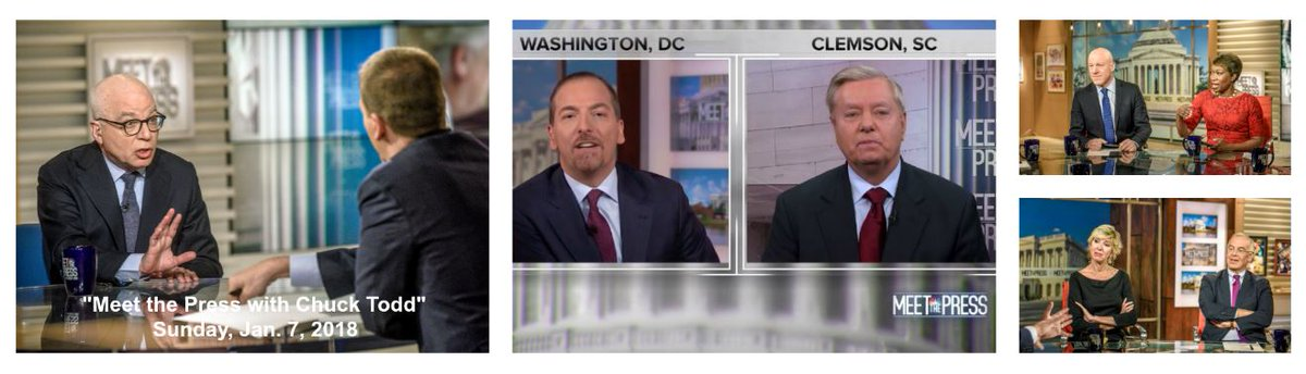 RATINGS: @MeetThePress with @chucktodd is #1 most-watched Sunday show across the board for 4th straight broadcast; delivers best total viewership in Washington, D.C. since Nov. 2008 --> https://t.co/AL0DcwFYVr