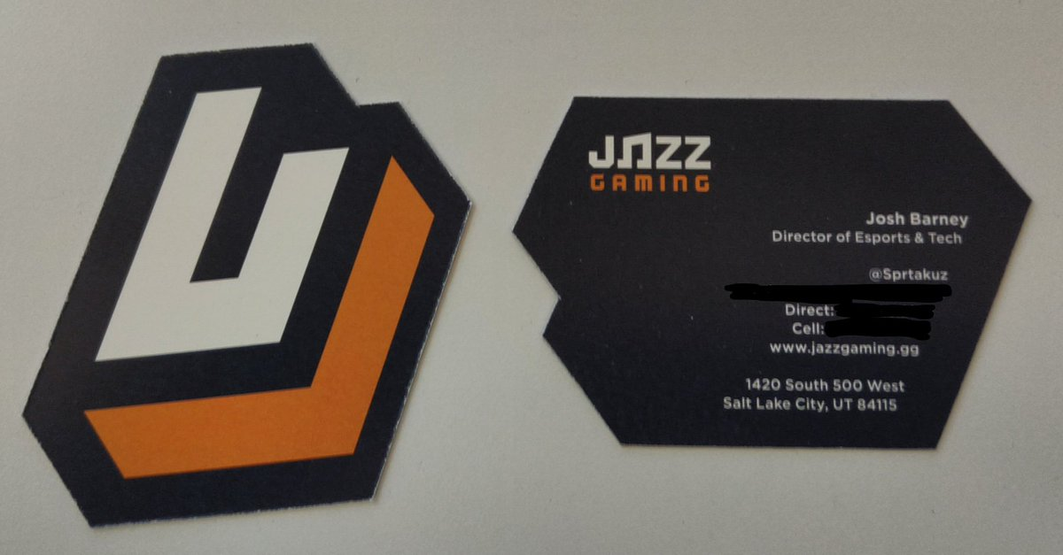 Josh Barney On Twitter Uhhhhh Who Has The Coolest Business Cards
