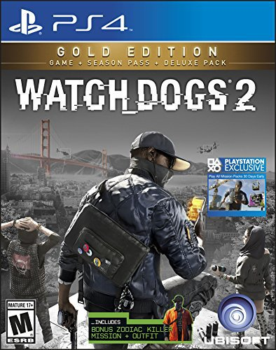 Watch-dogs 2 gold edition