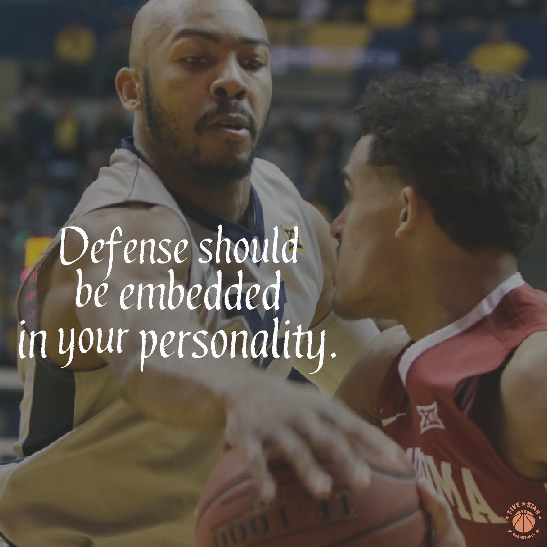 Defense should be embedded in your perso...
