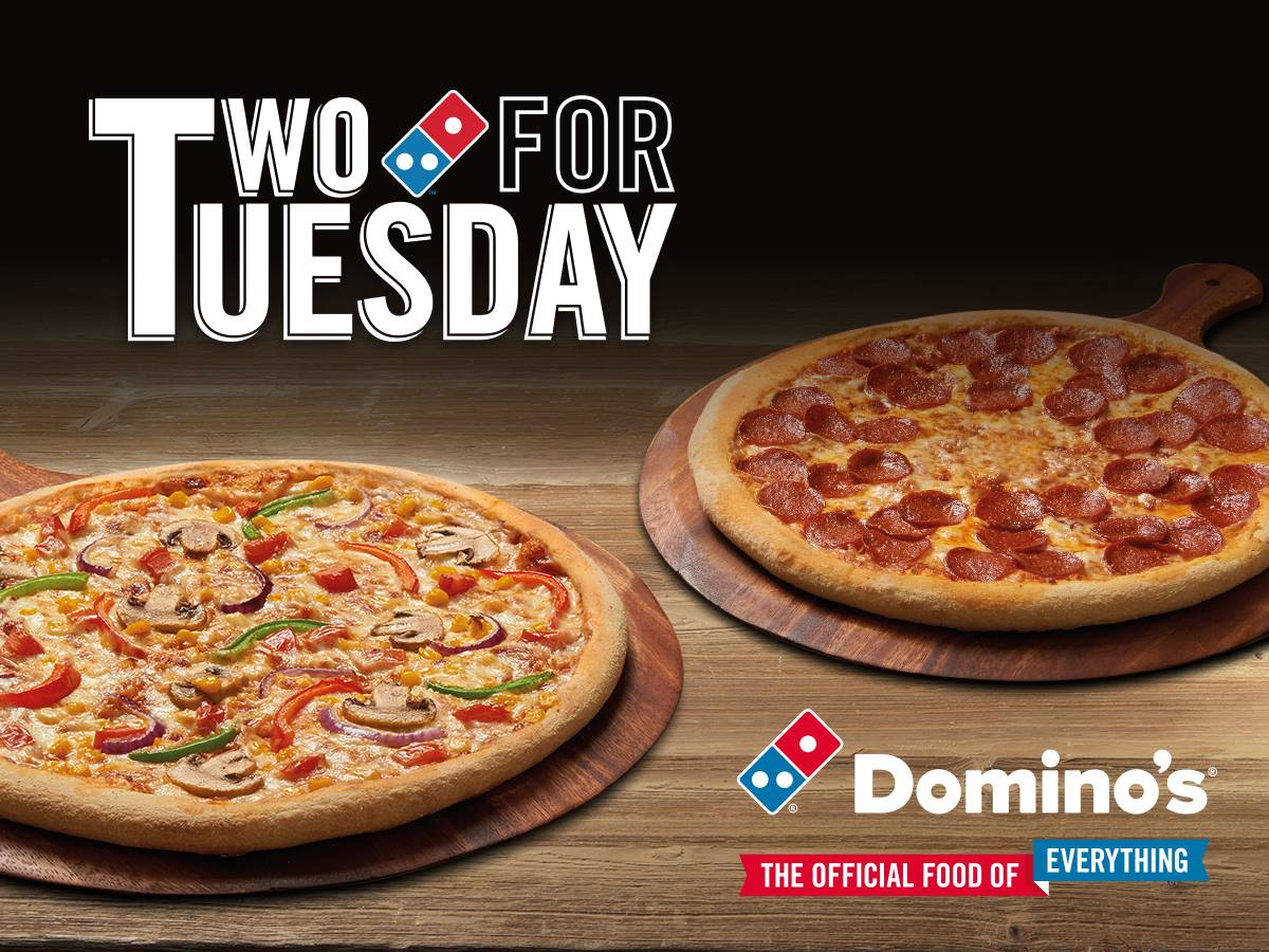 Dominos Southampton On Twitter Happy Two For Tuesday