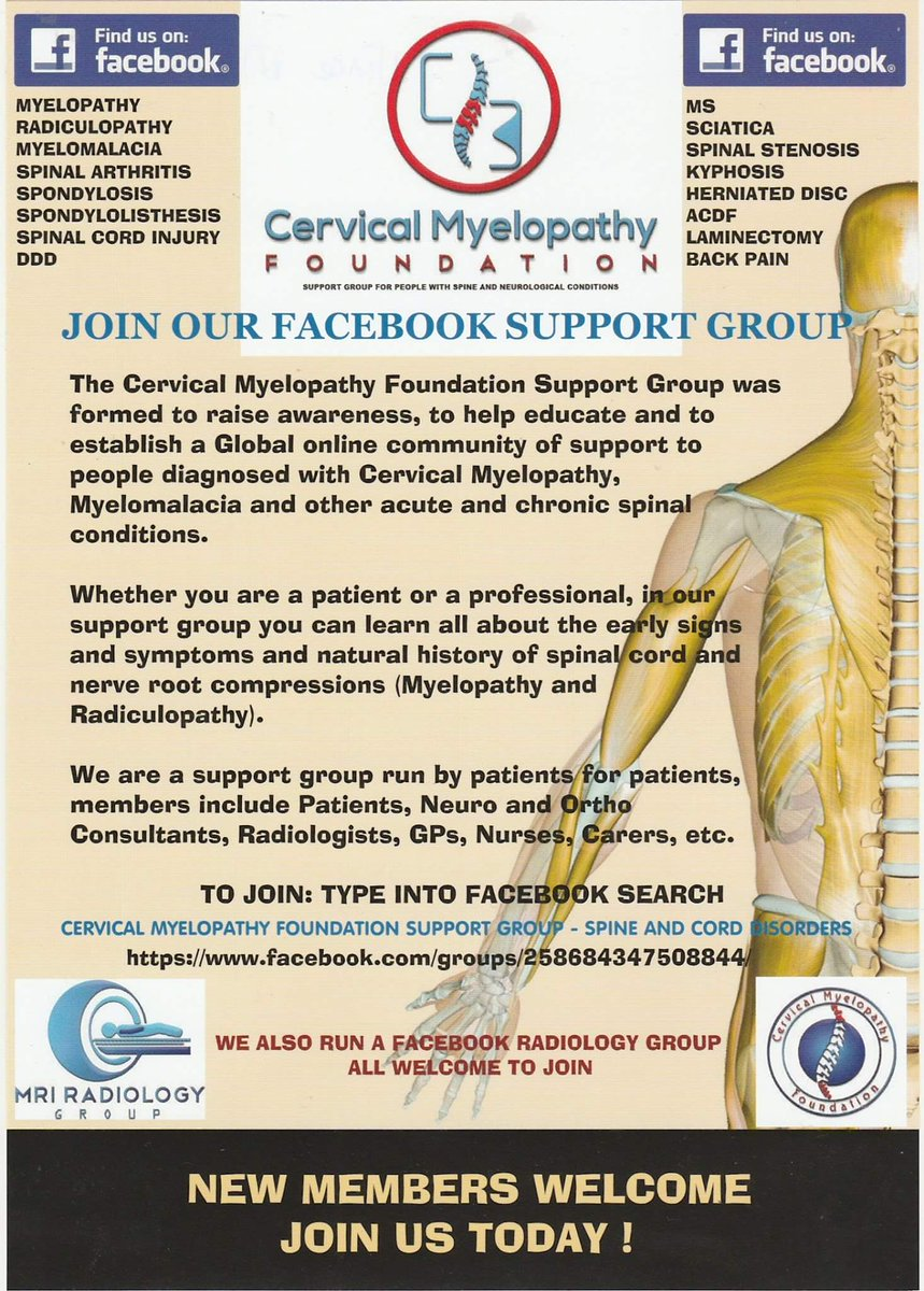 Spondylolisthesis support group