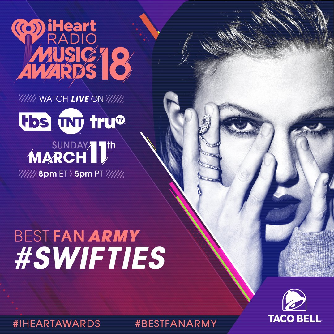 RT to vote for #Swifties to win #BestFan...