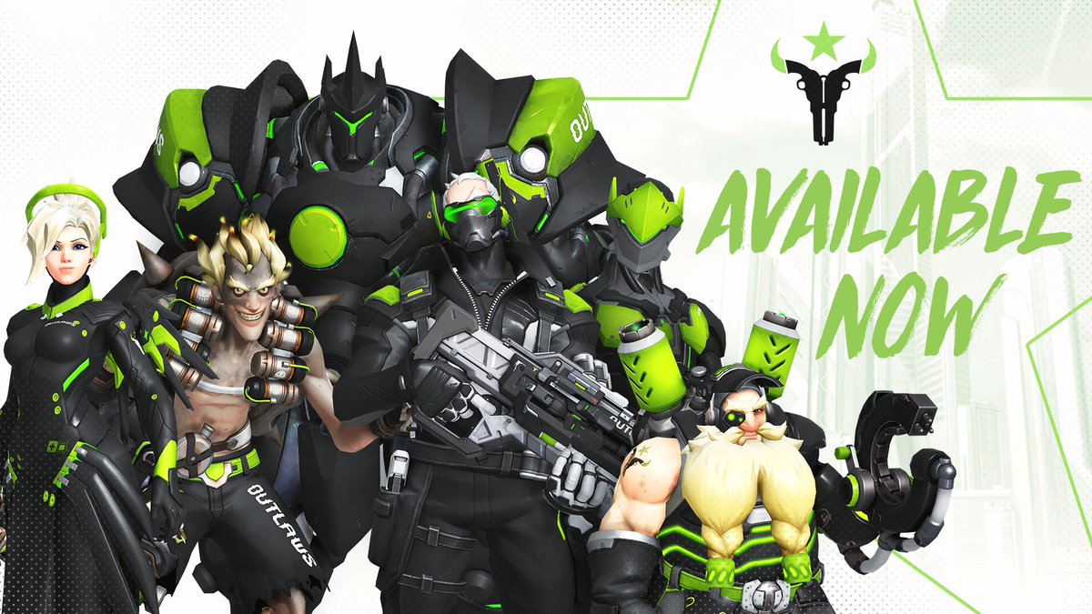 Houston Outlaws skins are available now...