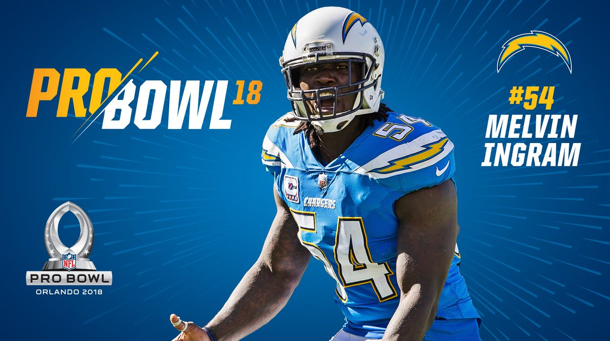 Los Angeles Chargers on Twitter: Melvin Ingram has been named to