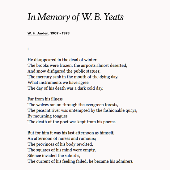 Poetsorg On Twitter W B Yeats Died Onthisday In 1939