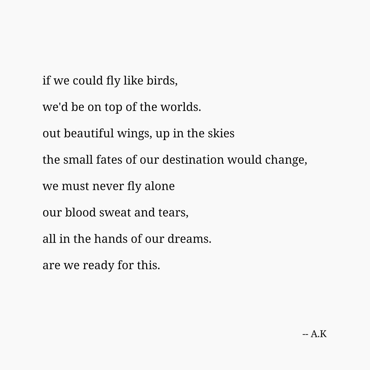 Ak Writer On Twitter Dreamer Dreams Poetrypage