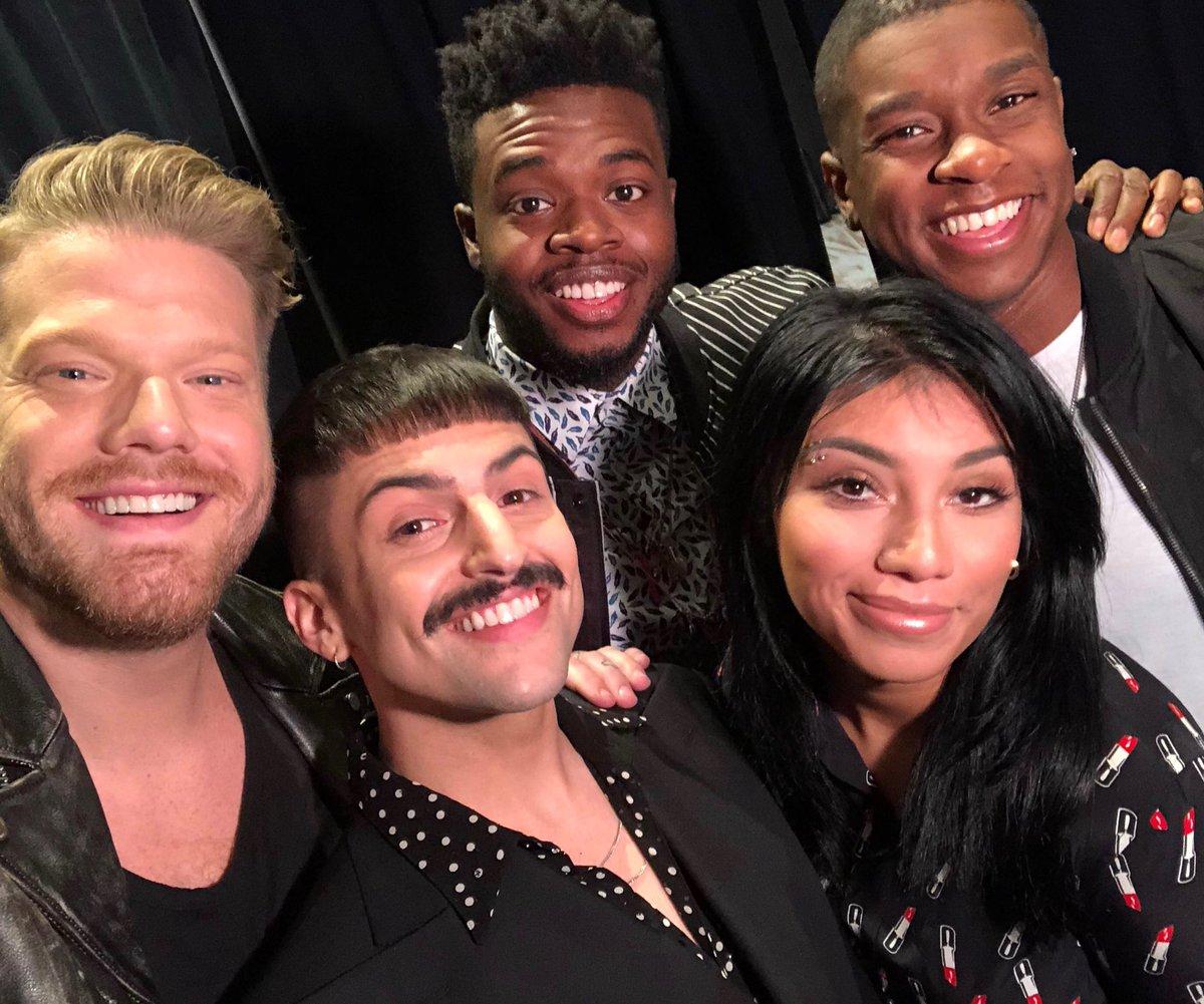 pentatonix on twitter first selfie of 2018