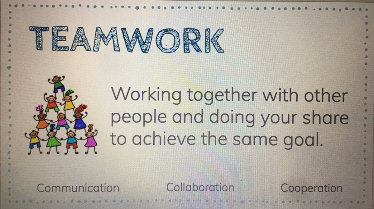 lessons learned from teamwork