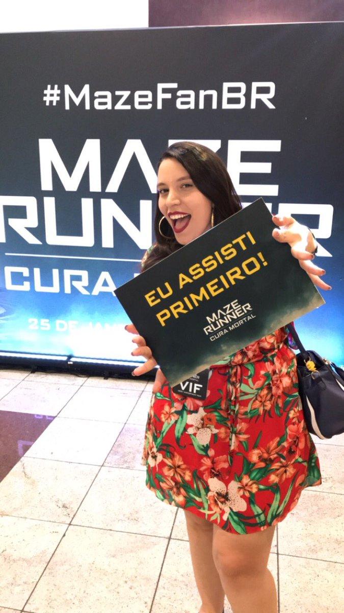 A @patricia_gomes também é MUITO fanática por #MazeRunner e não podia ficar de fora! 🤩 #MazeFanBR