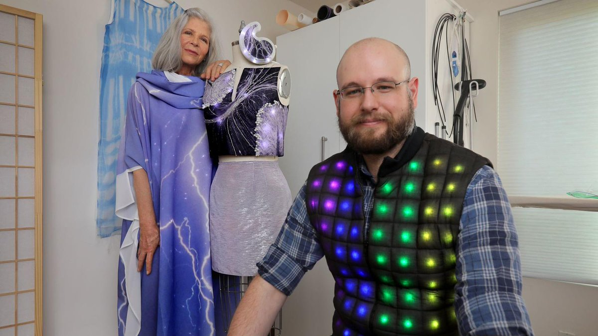 Uc San Diego News On Twitter Mom With A Passion For Fashion Design And Son Pursuing Ph D In Computer Science Ucsandiego Lighting Up The Fashion World Ucsd Https T Co L0r3nkmwej Https T Co Ju74agtdcm