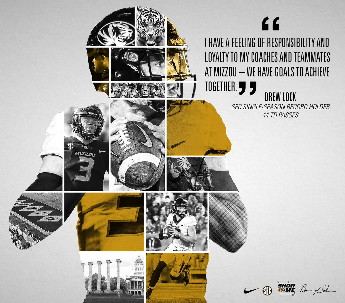 mizzou football on twitter we have goals to achieve together