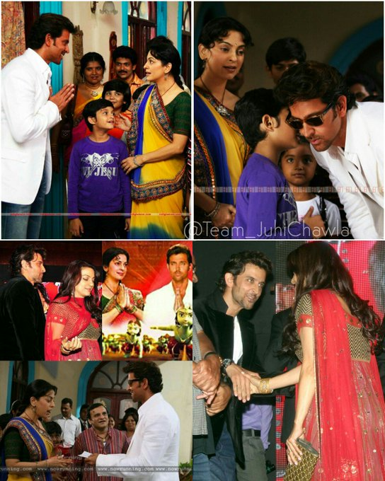 Wishes a very Happy Birthday to talented Hrithik Roshan .. and ..