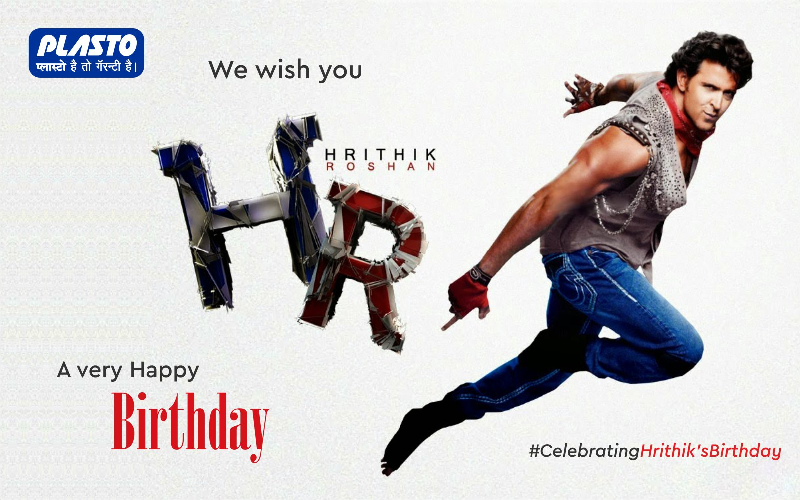 We wish Hrithik Roshan a very Happy Birthday!