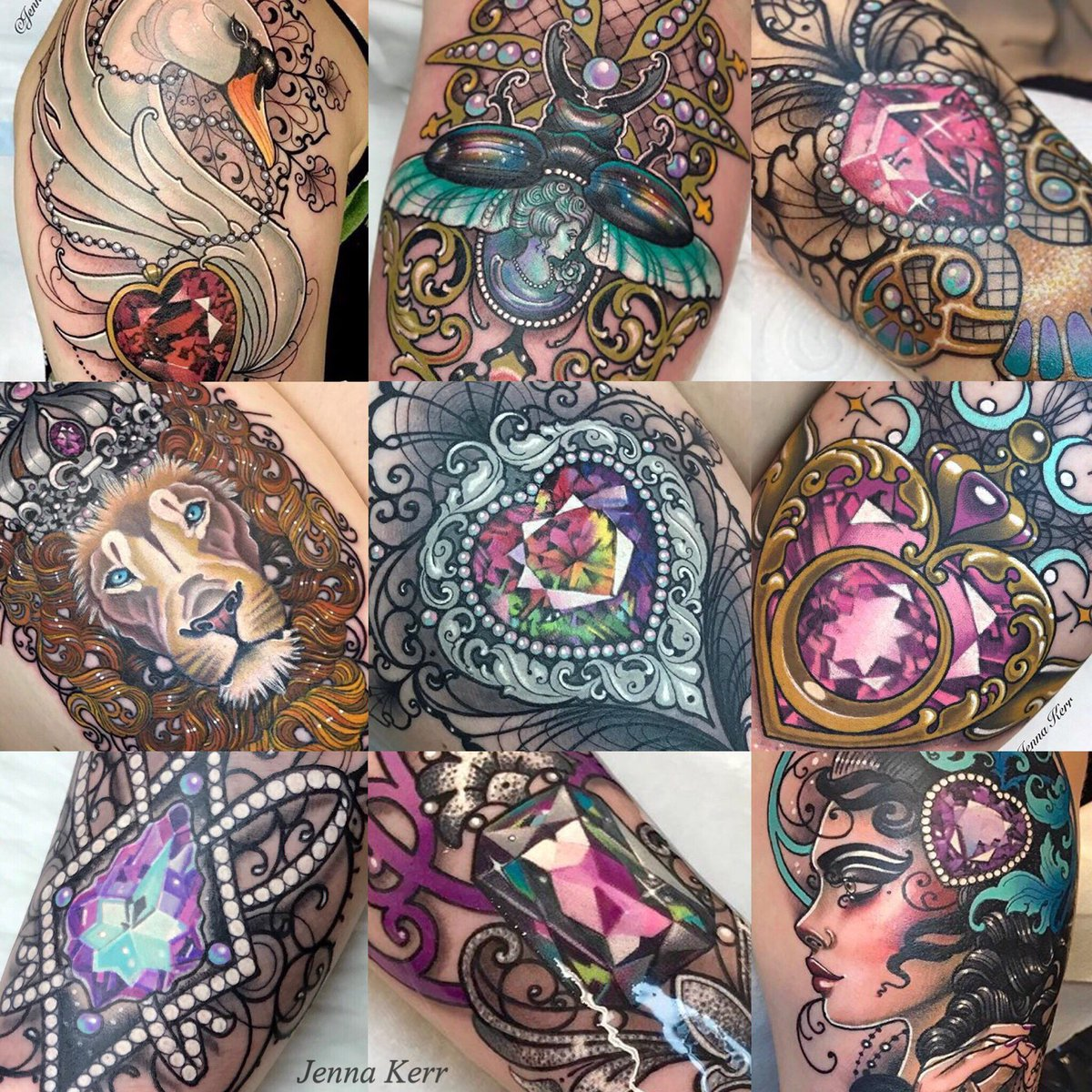 Jewels Tattoos Designs