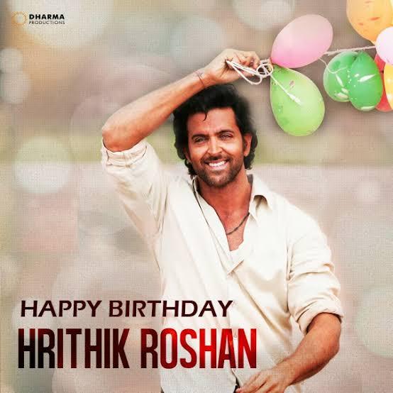 # Happy Birthday Hrithik Roshan sir