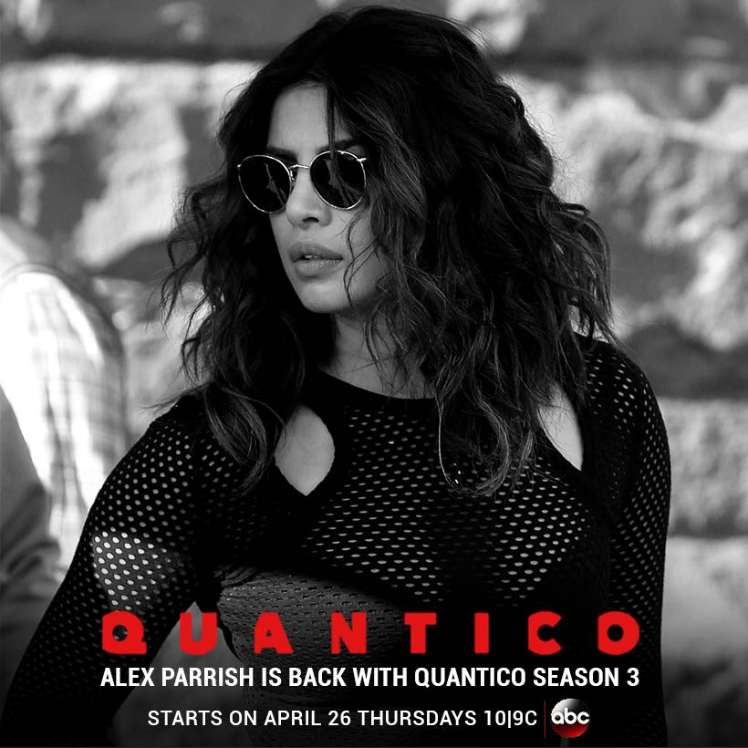 And She's back... Can't wait to share this with you!  #April26 #QuanticoSeason3 #TheReturnOfAlexParrish https://t.co/lAxWCUVN36