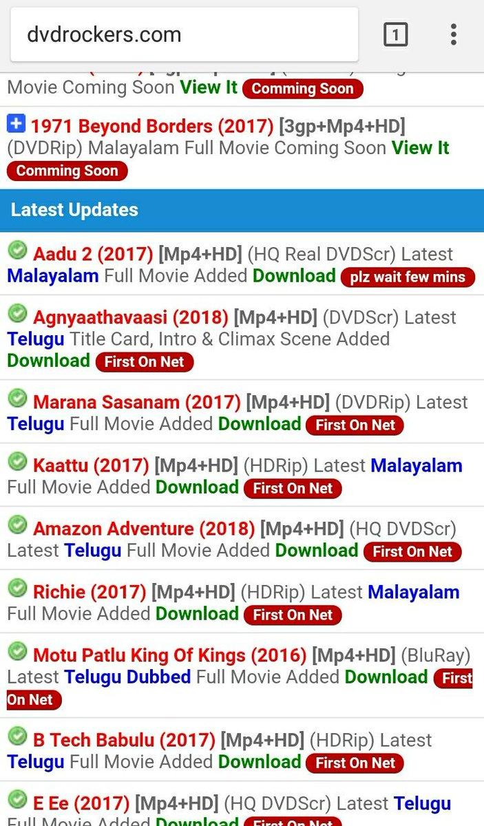 Top 10 Punto Medio Noticias | 2017 Telugu Movies Download Dvd Rockers