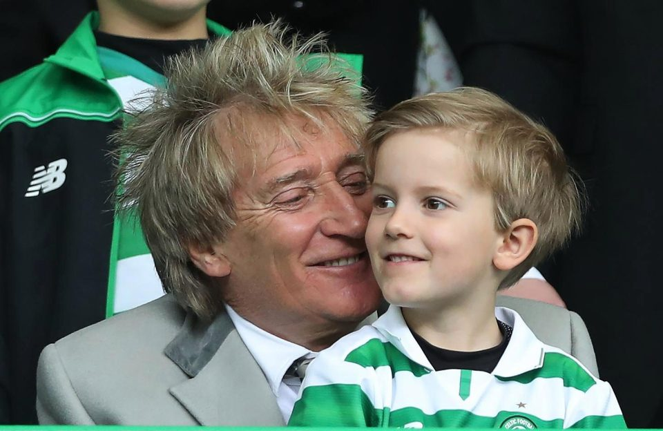 Happy Birthday to Rod Stewart and Abbey Clancy - Hope you both have a special day!