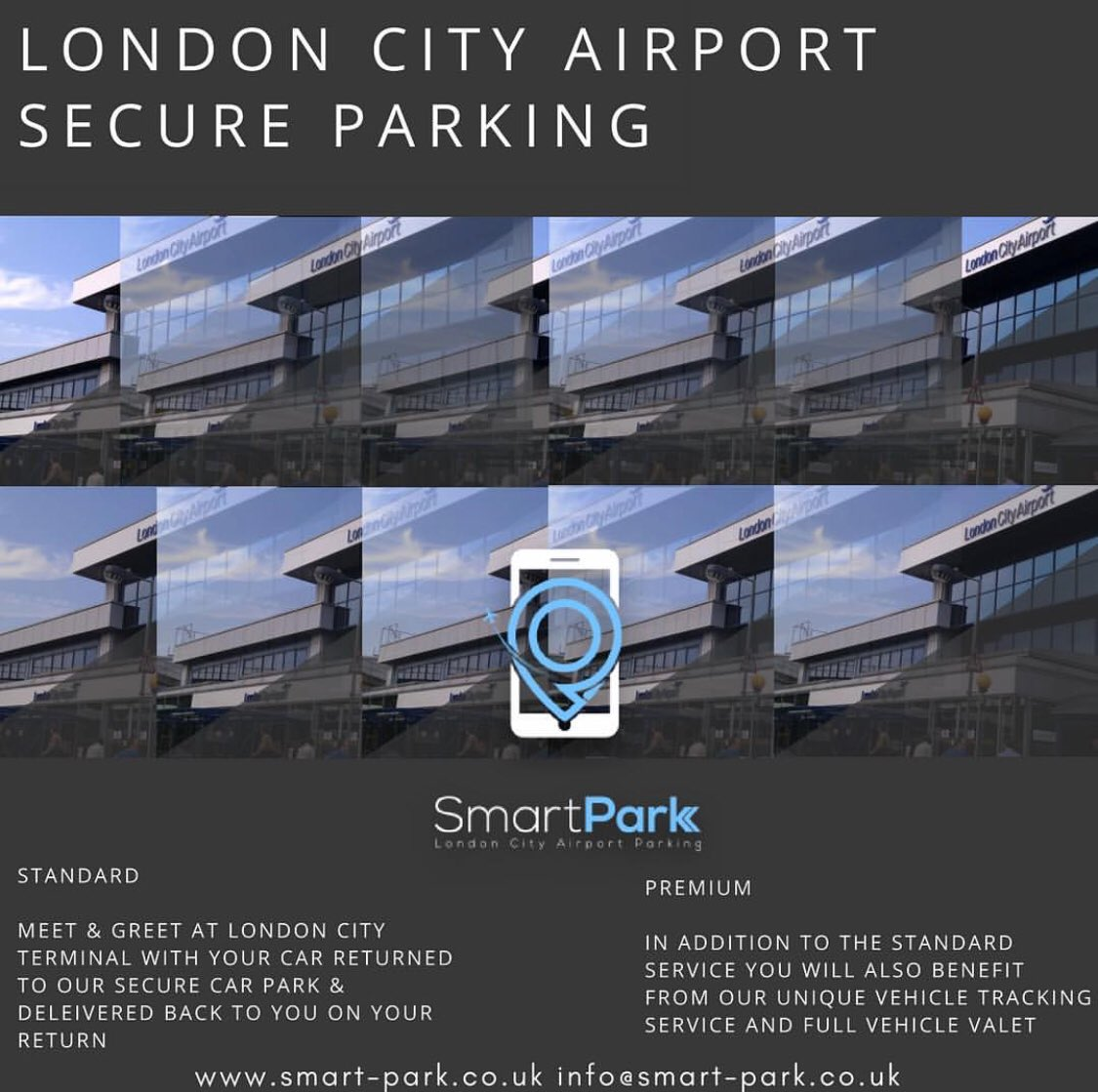 Smart Park On Twitter City Airport Meet And Greet Parking To Book