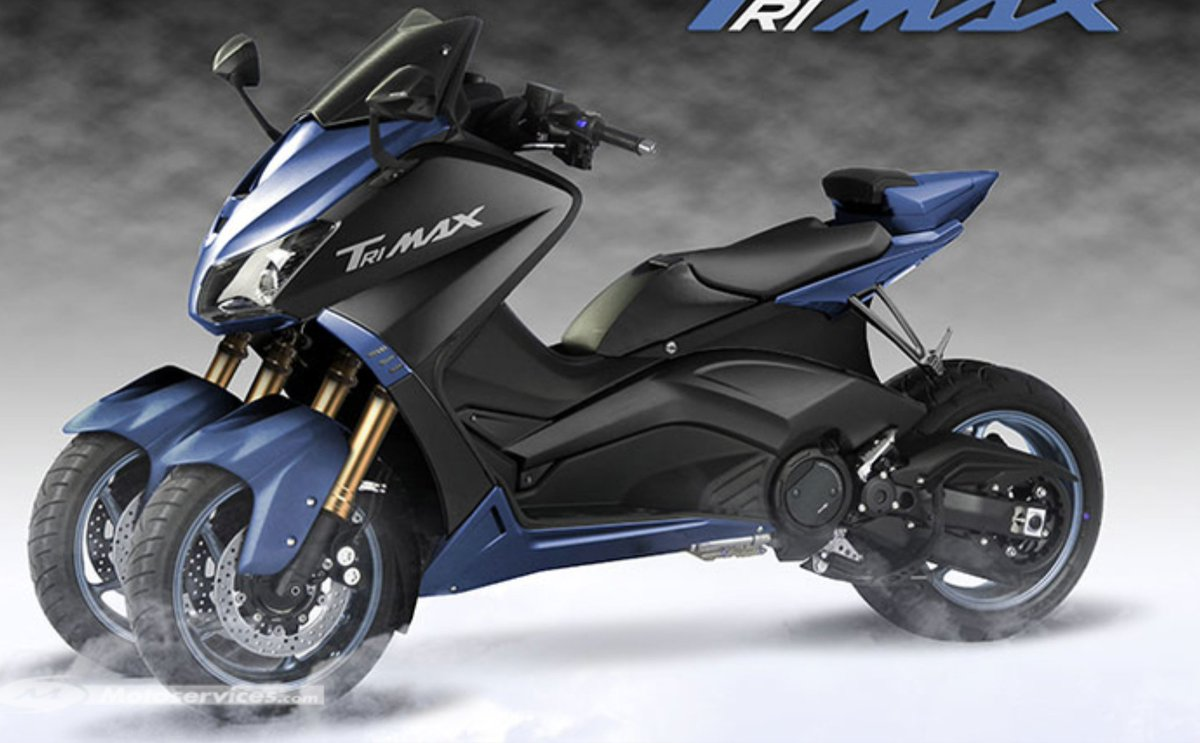 motoservices on twitter yamaha apr s l 39 annonce de la moto 3 roues niken un scooter 3. Black Bedroom Furniture Sets. Home Design Ideas