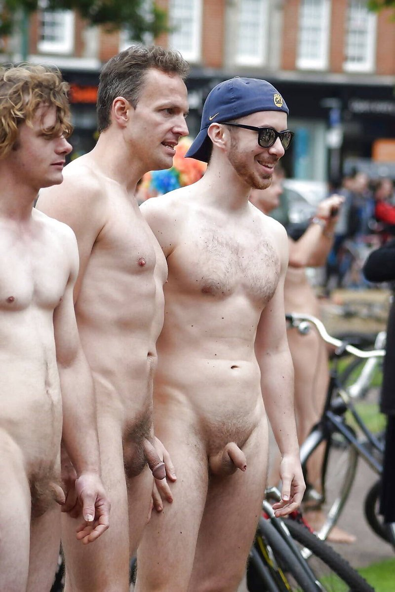 sexy men naked in public