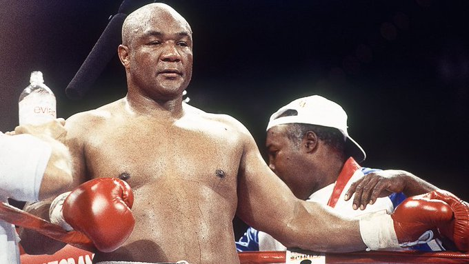 Happy 69th Birthday to the American Boxer,  George Foreman.