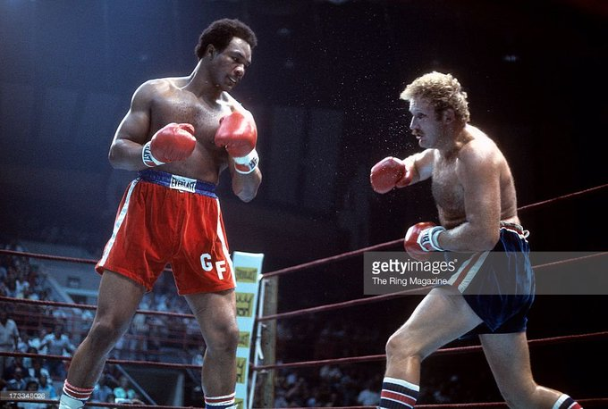 Happy Birthday to George Foreman(left) who turns 69 today!