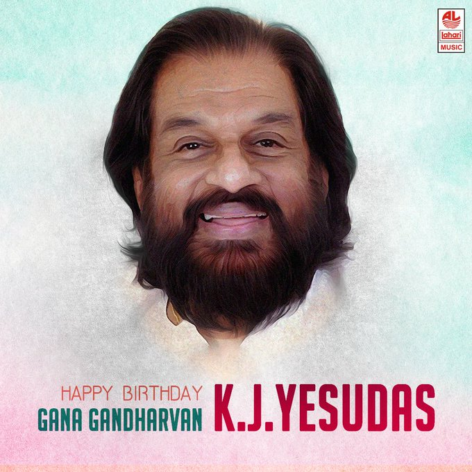 Magical voice one of Indian great legend singer \K.J.Yesudas\ wish u happy birthday.