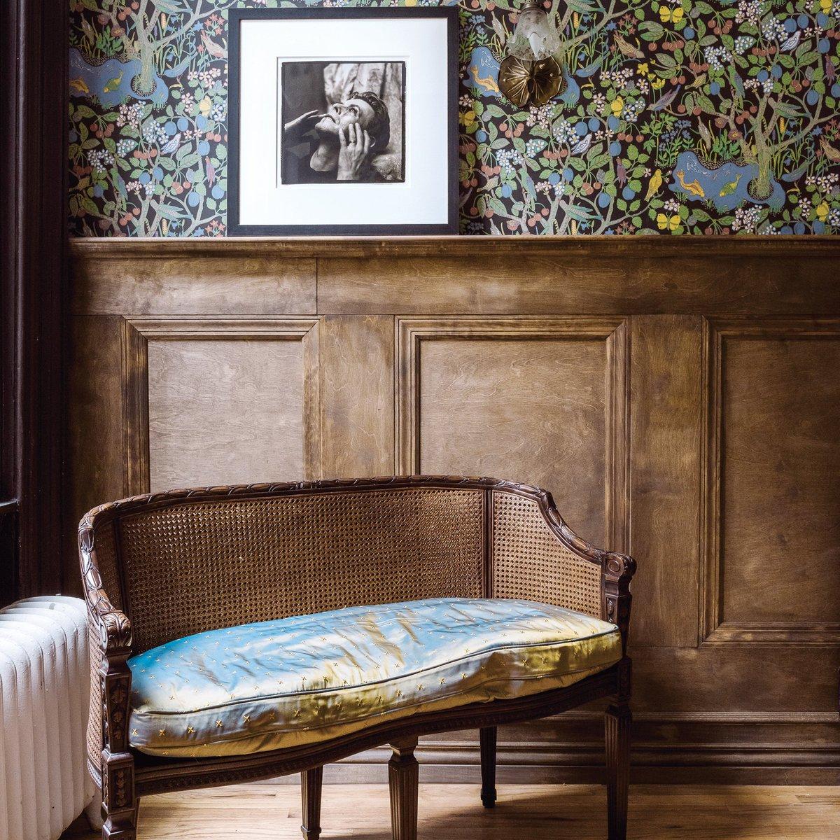 """marie claire maison on twitter: """"british inspiration : papier peint"""
