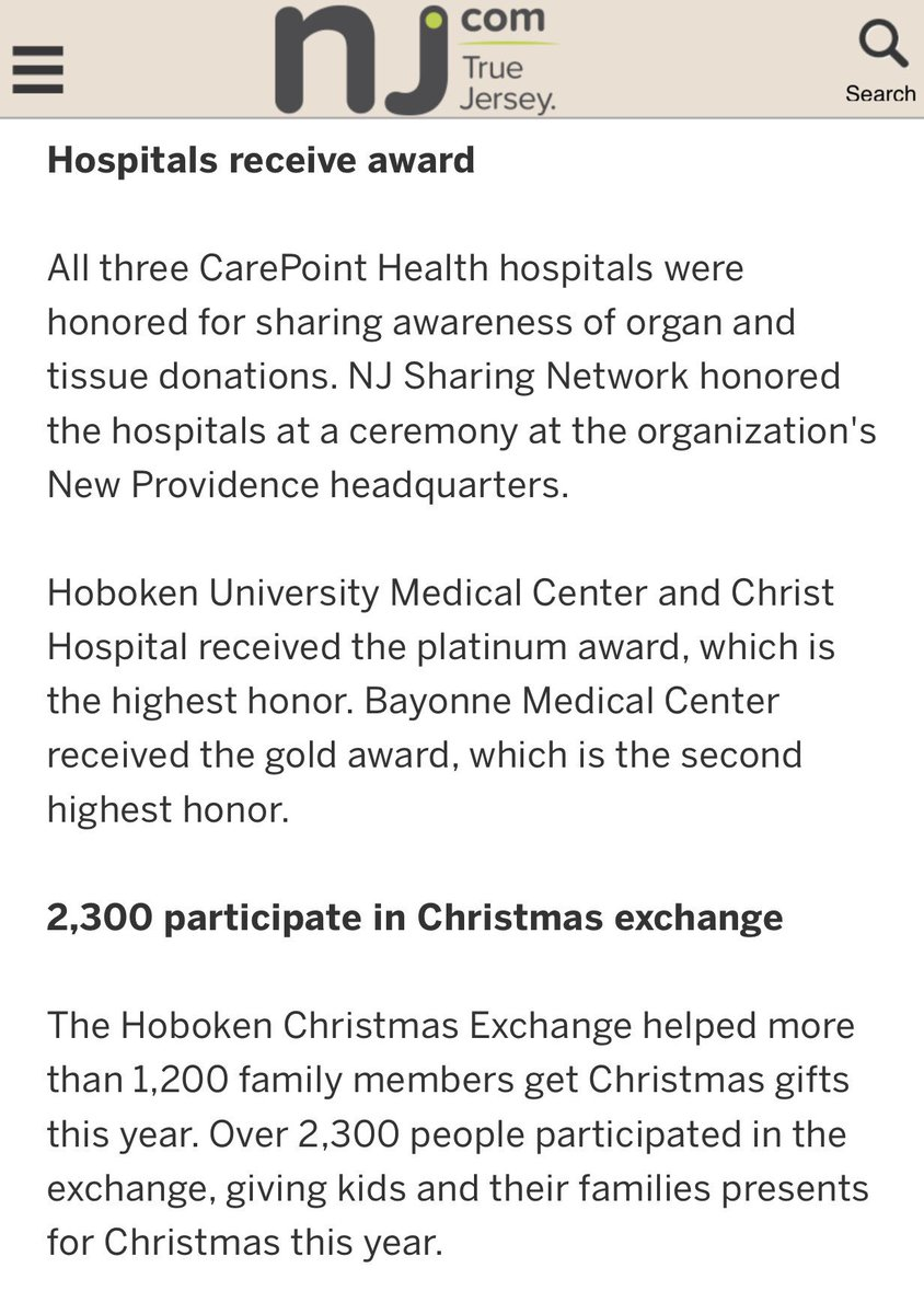 CarePoint Health on Twitter: \