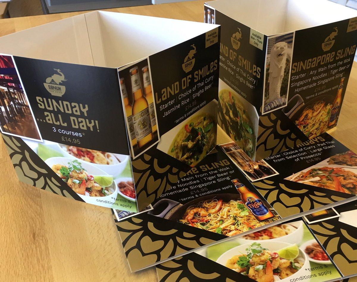 Speedprint Essex Ltd On Twitter Restaurant Table Cards Produced - Restaurant table cards