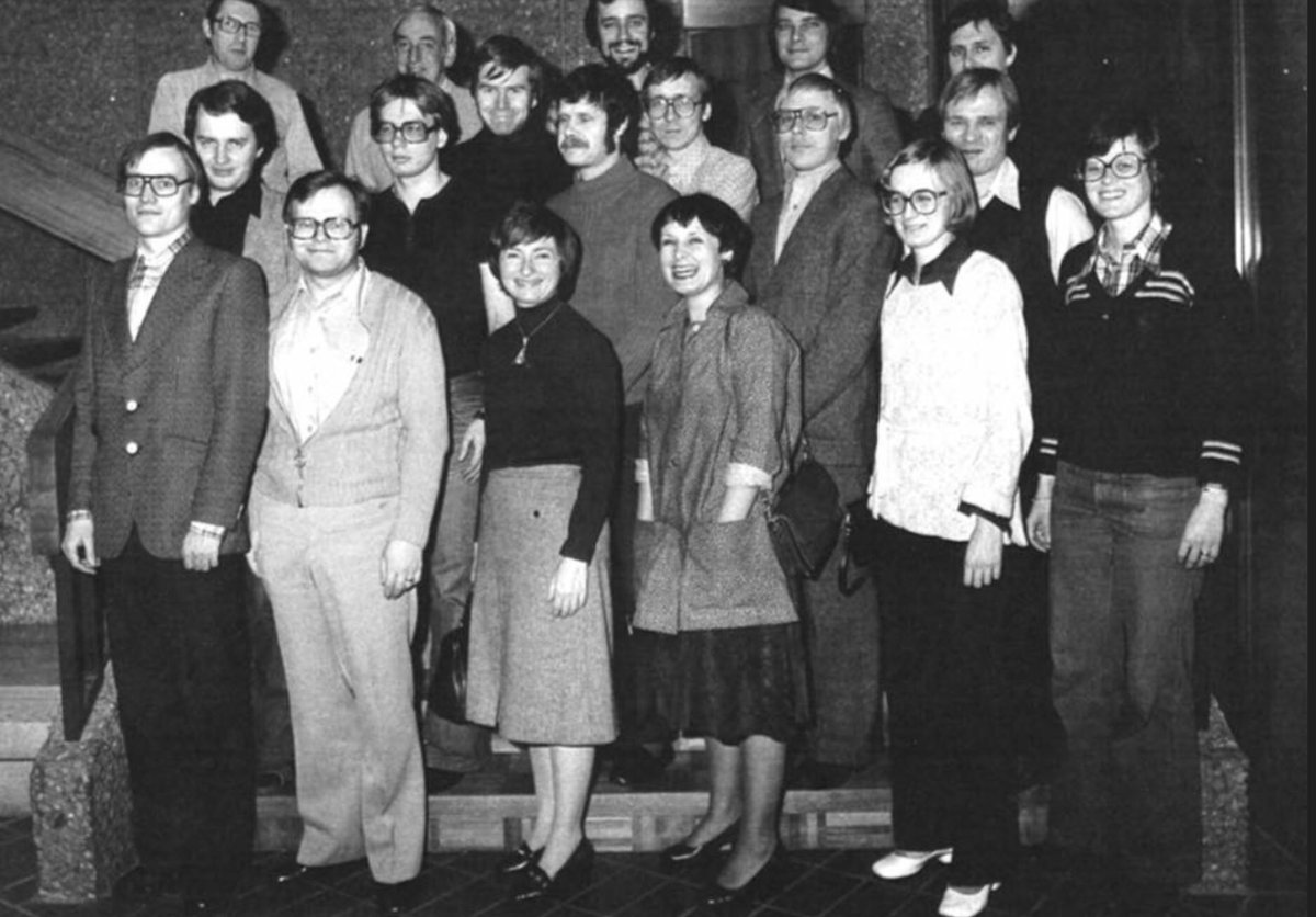 erkki liikanen on twitter helsinki january 1978 third from the left janet yellen with james tobin and their students frankfurt january 2018 janet yellen with mario draghi and members of the ecb janet yellen with mario draghi