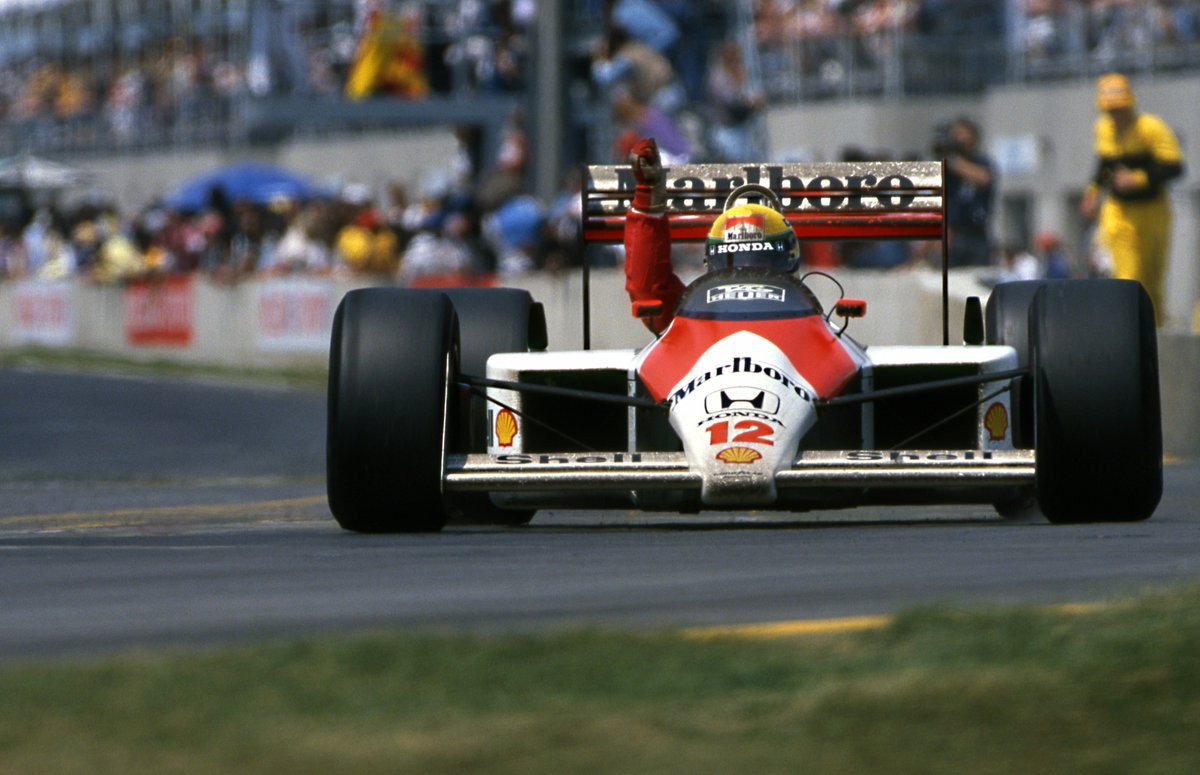 Team of Drivers' Champion  1988: McLaren...