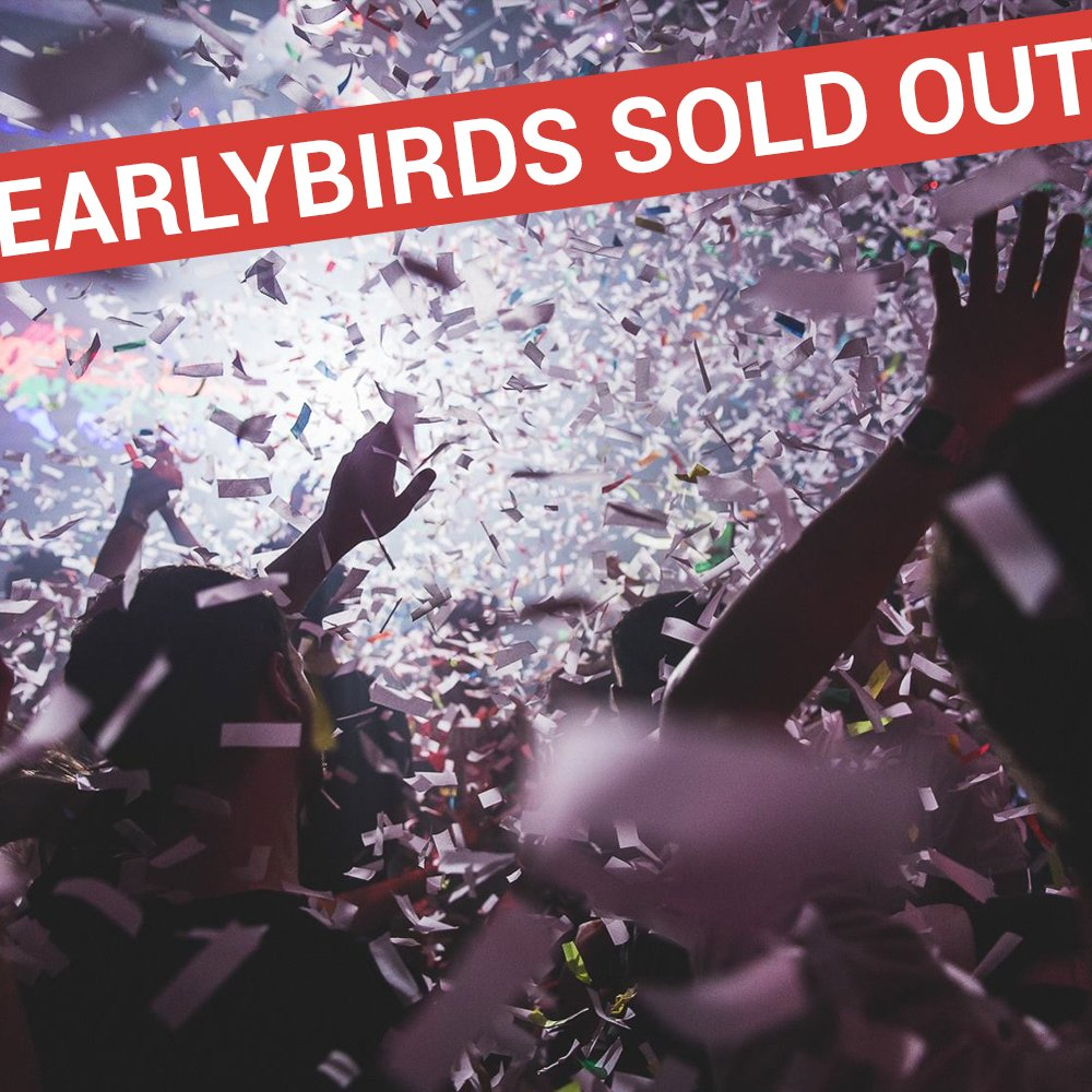All early bird tickets have now sold out for February at @FireVauxhall ! Details on next release will be coming soon