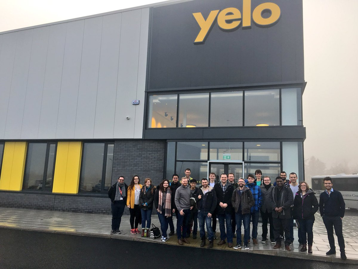 Thank you @Yelotestsystems for an engaging site visit today from Dr Fumin Huang, @Dr_Caryn_Hughes and students from all four generations of @CDT_PIADS cohorts! Extra thanks to Yelo Marketing Executive Dylan Burke  @QUBelfast @QUBMathsPhys @UofGSciEng @EPSRC #CDTchat <br>http://pic.twitter.com/9f5SqIlxau