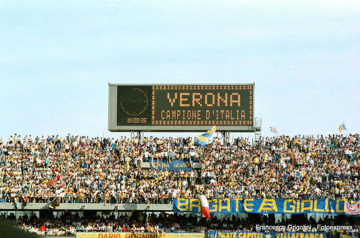 """Hellas Verona FC on Twitter: """"A chi da 58 anni racconta il calcio italiano...tanti auguri a #TuttoIlCalcio @radiorai 💪🏻… """""""