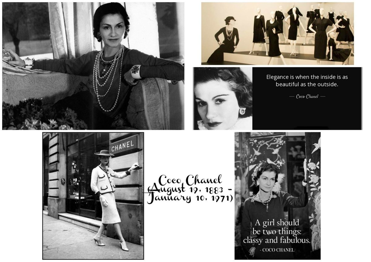 Connie Landro On Twitter Today In History January 10th 10 Jan 1971 Coco Chanel Died In Paris France On This Day Gabrielle Coco Chanel One Of The Most Famous Fashion Designers