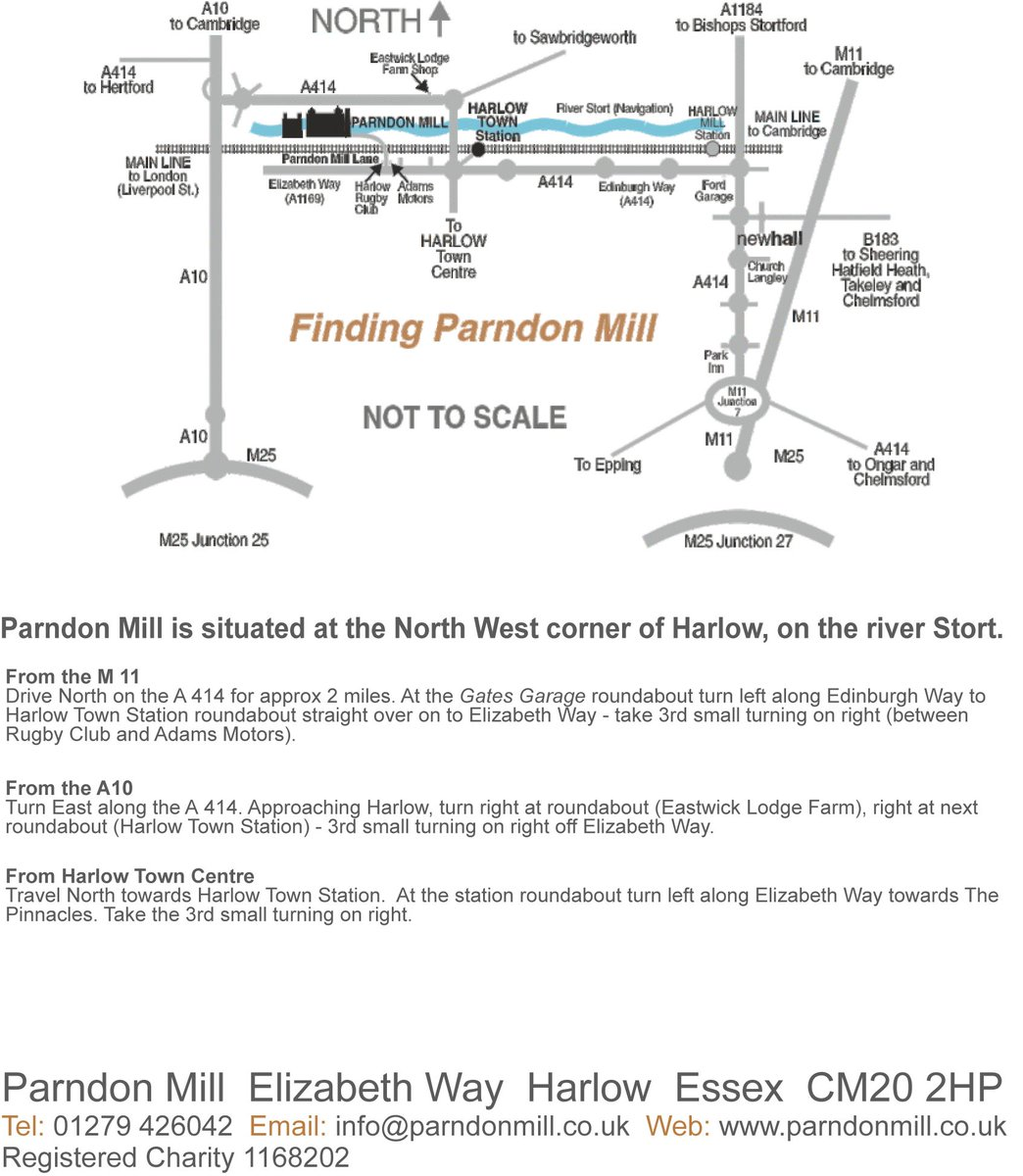 "Parndon Mill on Twitter: ""The Gallery here @Parndonmill - Where are we you ask? We want you to find us, visit us, enjoy it here, so see the map we have ..."