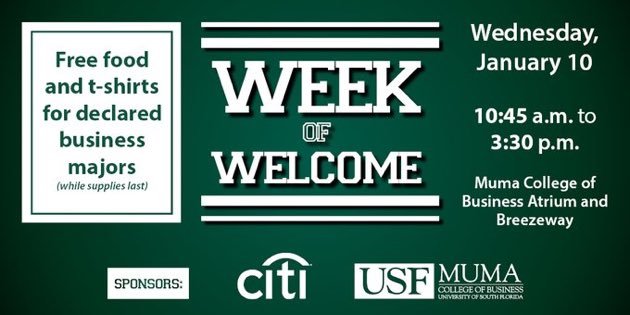 Usf Muma On Twitter It S Today Declared Usf Business Majors Know